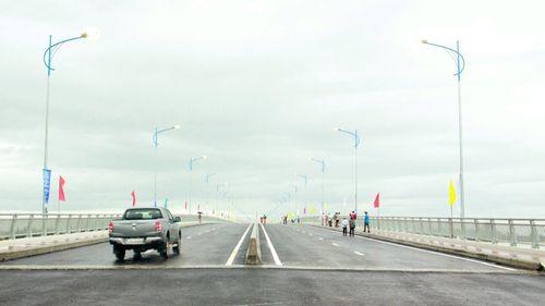 Khánh thành cầu Cổ Lũy bắc qua sông Trà Khúc