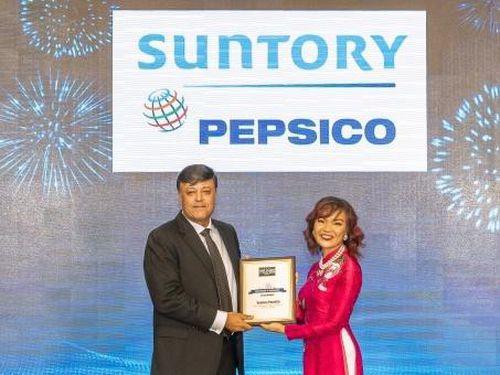 Suntory PepsiCo giữ vị thế công ty đồ uống không cồn uy tín nhất VN