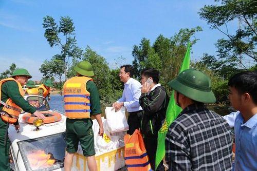 C.P. Việt Nam hỗ trợ người dân miền Trung theo 3 giai đoạn