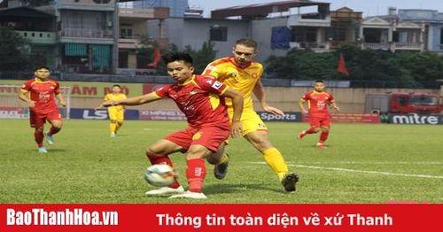 Thanh Hóa hòa Sông Lam Nghệ An, thêm Hải Phòng giành vé trụ hạng