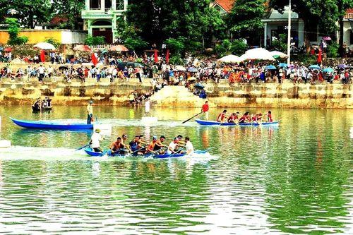 Hấp dẫn giải đua thuyền ở Tiên Yên