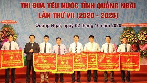 PC Quảng Ngãi được tặng Cờ thi đua 'Đơn vị xuất sắc tiêu biểu trong phong trào thi đua yêu nước giai đoạn 2016 - 2020'