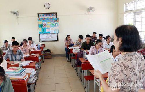 Nghệ An: Hơn 2.100 thí sinh dự thi học sinh giỏi tỉnh lớp 12