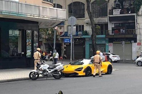 Tại sao McLaren 720S Spider hơn 23 tỷ bị tạm giữ ở Sài Gòn?