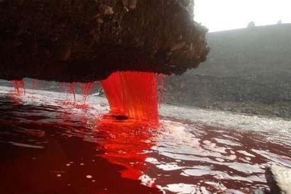 Kinh hoàng dòng sông chảy máu ở Trung Quốc