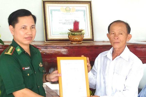 Tặng nhà 'Nghĩa tình đồng đội' cho cựu chiến binh BĐBP tại Cà Mau