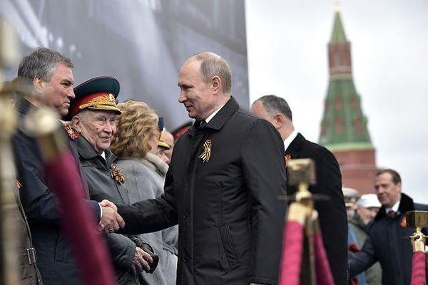 Ông Putin: 'Không sức mạnh nào có thể khuất phục được dân tộc Nga'