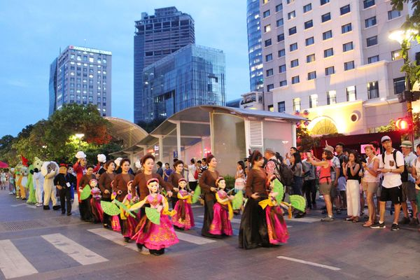 Festival Nghệ thuật Múa rối lần thứ I: Mãnh liệt lửa đam mê
