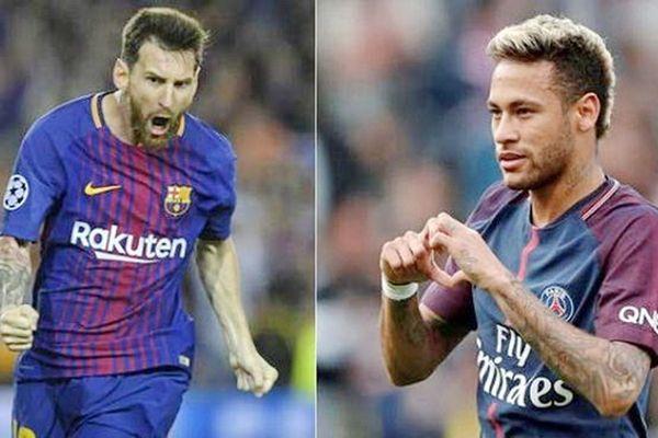 Messi, Neymar sánh đôi trong đội hình hay nhất Champions League