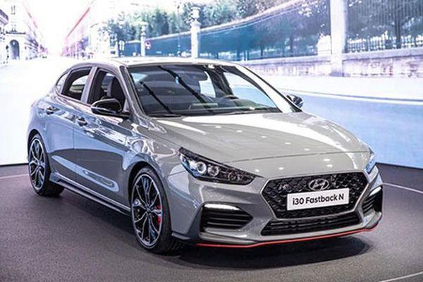 Hyundai i30 Fastback N chào sân Paris Motor Show 2018