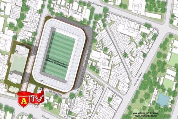 Hà Nội dự kiến đầu tư hơn 6.000 tỷ đồng xây sân Hàng Đẫy phục vụ SEA Games 31
