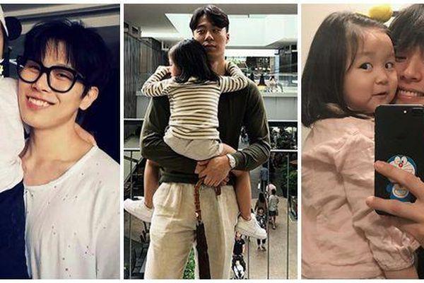 Top 3 ông bố 'bỉm sữa' quyến rũ nhất Châu Á