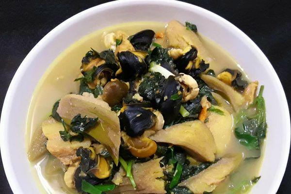 Món ngon mỗi ngày: Ốc nấu chuối đậu thơm ngon mà không bị tanh
