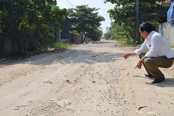 Cầm sớm hoàn trả tuyến đường dân sinh bị xuống cấp khi thi công tuyến đê biển Hà Nam