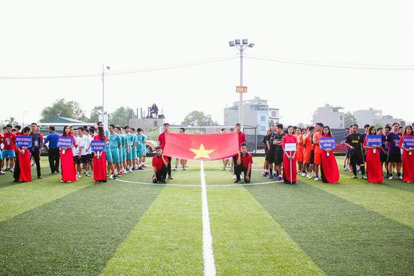 Khai mạc Giải bóng đá thanh niên Hạ Long lần thứ V