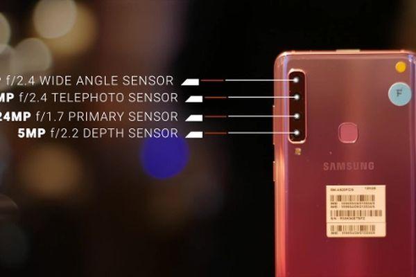 Khám phá 04 camera của Samsung Galaxy A9