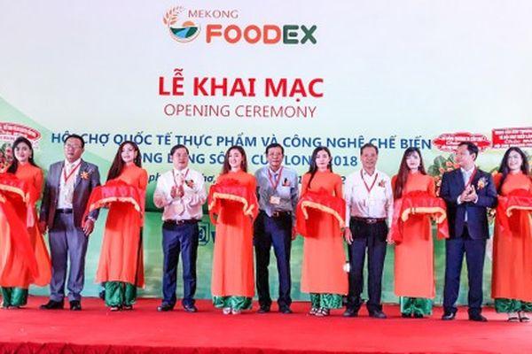 Khai mạc Hội chợ Quốc tế Mekong Foodex 2018