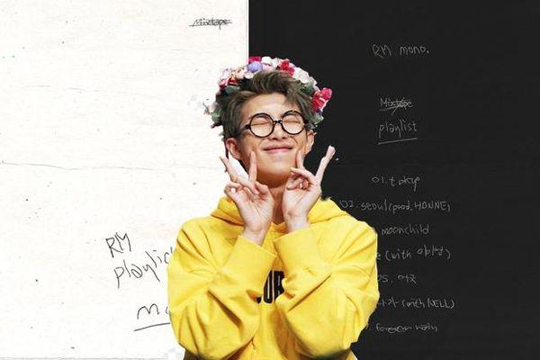 Fan ngã ngửa khi Big Hit bất ngờ tiết lộ tracklist mixtape 'Mono' của RM(BTS)