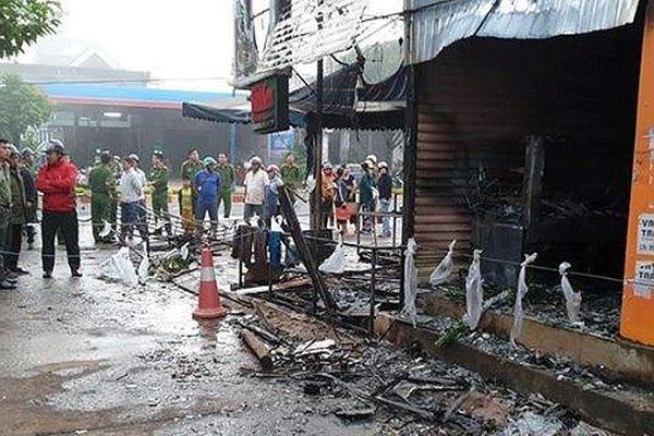 Cửa hàng hoa phát hỏa vào rạng sáng, 2 cô gái tử vong