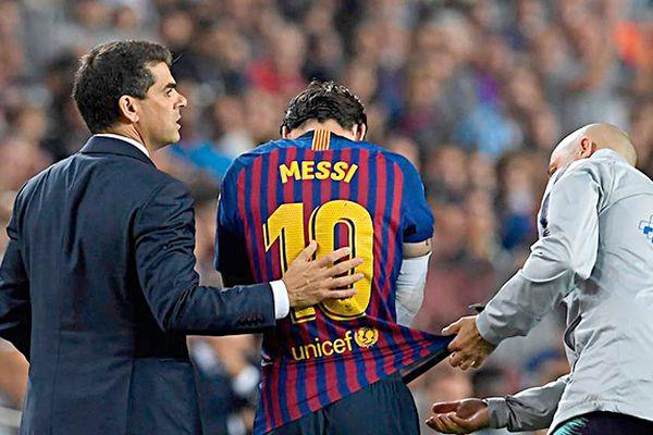 Barcelona đầy rẫy mối lo