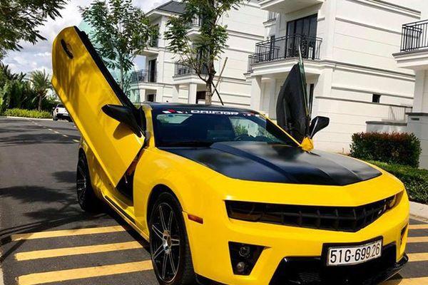 Chevrolet Camaro độ cánh cắt kéo hệt siêu xe Lamborghini gây sốt trên mạng xã hội
