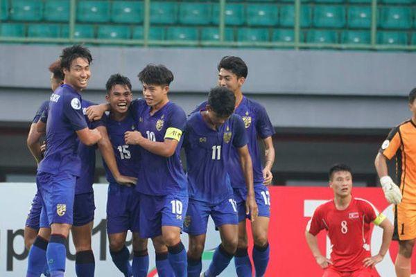 Đánh bại U19 Triều Tiên, U19 Thái Lan giành vé vào tứ kết giải U19 châu Á