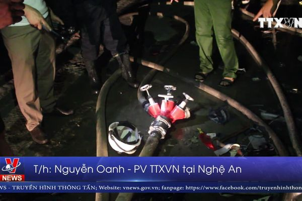 3 vụ hỏa hoạn liên tiếp tại Nghệ An gây nhiều thiệt hại