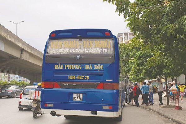 Bến 'cóc' trên đường Nguyễn Xiển chuyển đi... 50m