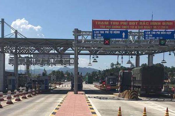 Chính thức dừng thu phí trạm BOT Bắc Bình Định