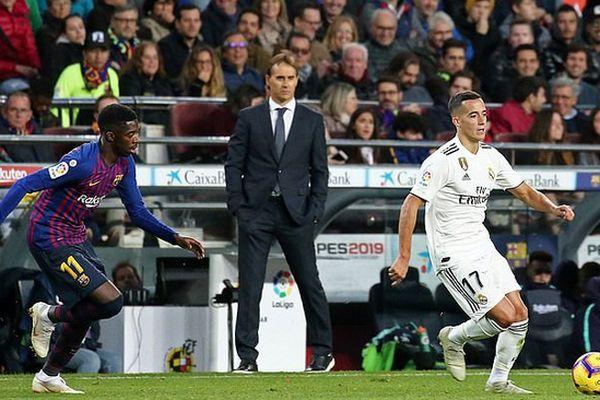 'Kền kền trắng' 'trảm' Julen Lopetegui sau thất bại trước Barcelona