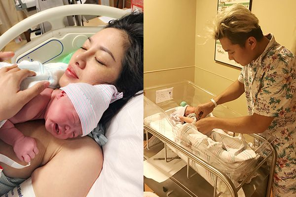 Showbiz Việt vừa có thêm 1 em bé mang quốc tịch Mỹ, cộng đồng mạng thi nhau gửi lời chúc mừng