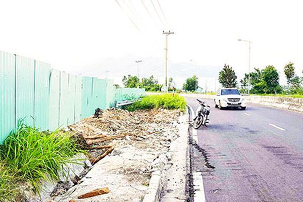 Đấu nối đường trái phép: Nhiều dự án bị xử lý