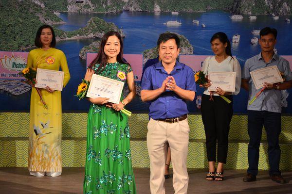 HDV Ban Quản lý Vịnh Hạ Long đoạt giải Nhất Hội thi hướng dẫn viên giỏi Quảng Ninh 2018