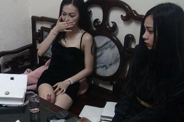 2 'kiều nữ' nửa đêm ra đường cùng ma túy đá và thuốc lắc