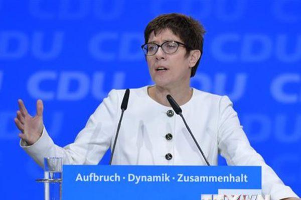 Đức: Tổng Thư ký CDU tuyên bố ứng vào chức chủ tịch đảng