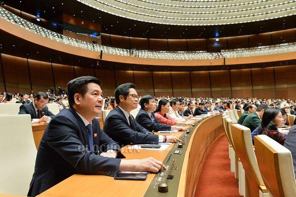 Quốc hội biểu quyết thông qua chỉ tiêu GDP năm 2019 từ 6,6-6,8%