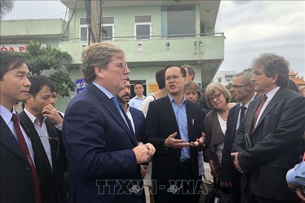 Đoàn Nghị viện châu Âu đánh giá cao nỗ lực chống khai thác thủy sản bất hợp pháp của Việt Nam