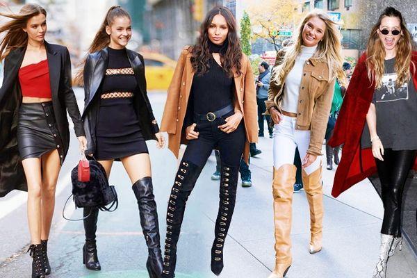 Street style cực 'chất' của dàn thiên thần Victoria's Secret trước thềm show diễn nội y lớn nhất hành tinh