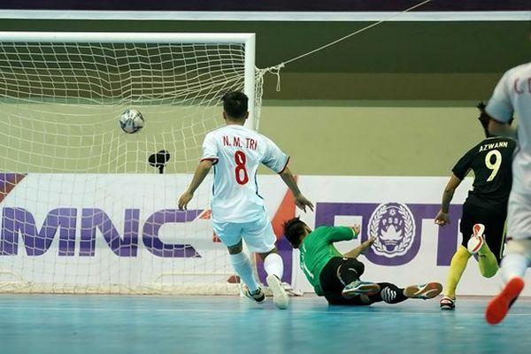 Đội tuyển futsal Việt Nam thua đau ở loạt luân lưu