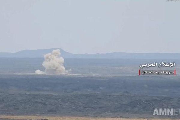 Quân đội Syria khai màn cuộc tấn công lớn giải phóng phía nam
