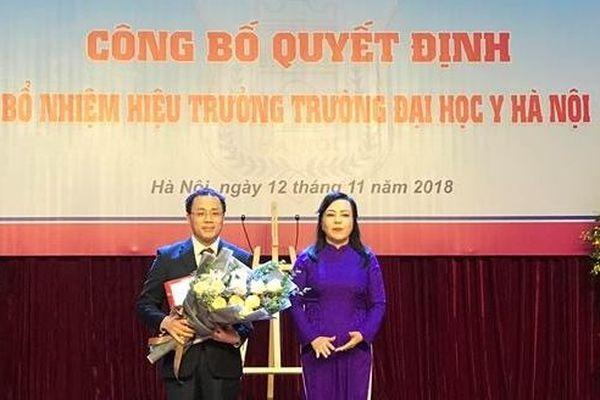 Bổ nhiệm GS.TS Tạ Thành Văn làm Hiệu trưởng Trường Đại học Y Hà Nội