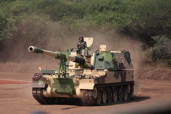 Quân đội Ấn Độ tiếp nhận pháo tự hành thế hệ mới