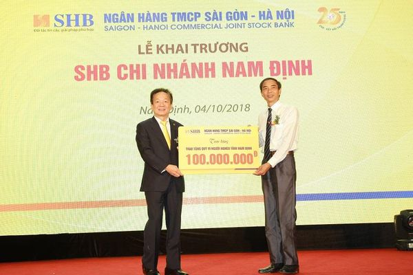 Thêm nguồn lực tài chính đến với Nam Định