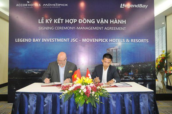 Ký kết hợp đồng quản lý khách sạn Movenpick Hạ Long Hotels and Resorts