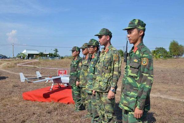 Bình Thuận dùng máy bay không người lái kiểm tra rừng