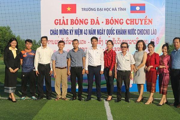 Hà Tĩnh: Giao lưu thể thao chào mừng kỉ niệm 43 năm Ngày Quốc khánh Lào