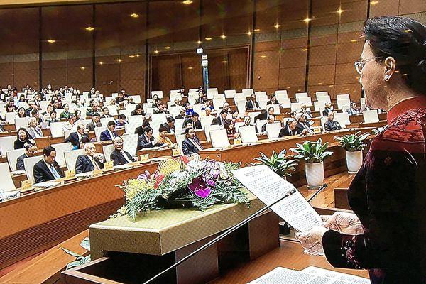 Chủ tịch Quốc hội nhấn mạnh sự kiện Tổng Bí thư làm Chủ tịch nước
