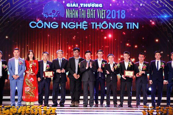 Vbee và Stringee đạt giải cao nhất lĩnh vực CNTT của Nhân tài Đất Việt 2018