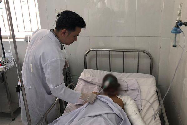 Tài xế xe bồn xăng trong vụ tai nạn gây cháy 19 căn nhà ở Bình Phước bị bỏng nặng, đa chấn thương