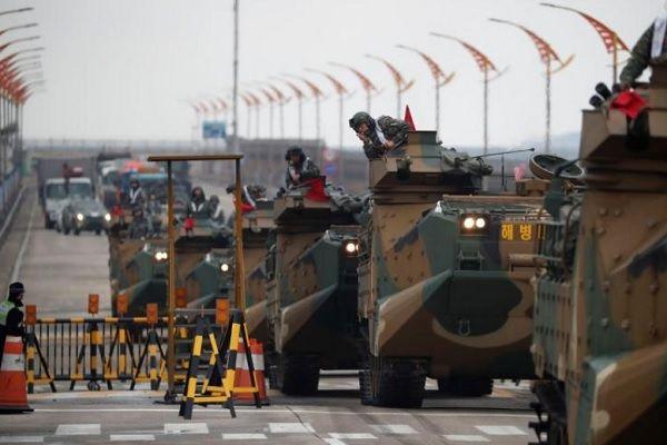 Xoa dịu Triều Tiên, Mỹ bất ngờ giảm quy mô tập trận 'Đại bàng' với Hàn Quốc